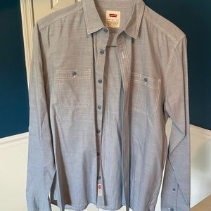 Levi's shirt, Light Blue, size M